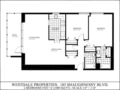 2 Bedroom Apartments For Rent At 185 Shaughnessy Blvd