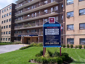 2 Bedroom Apartments for Rent at 1524 Lawrence Avenue West