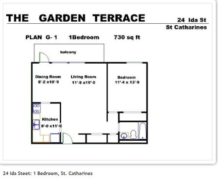 1 Bedroom Apartments For Rent At 24 Ida Street St