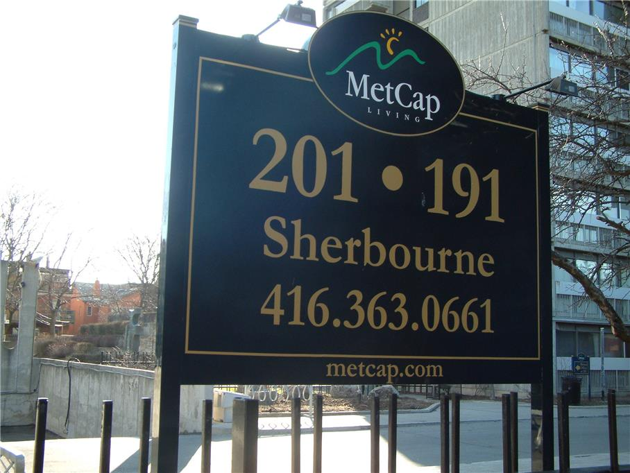 191 and 201 Sherbourne Street, Toronto, ON