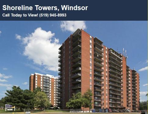 Apartments For Rent Windsor Ontario Riverside Drive
