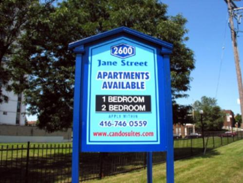 1 Bedroom Apartments for Rent at 2600 Jane St, North York, ON