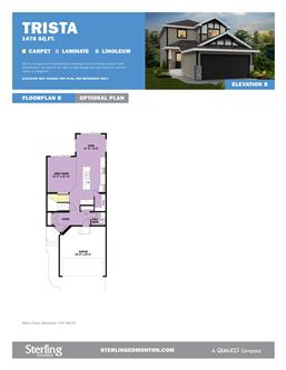Cy becker sterling homes edmonton new detached house for Becker payment plan